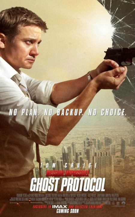 Mission: Impossible - Ghost Protocol Unleashes Character Posters #5293