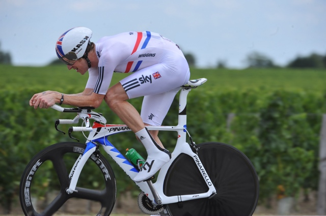 Bradley Wiggins, Tour de France 2010, stage 19 TT