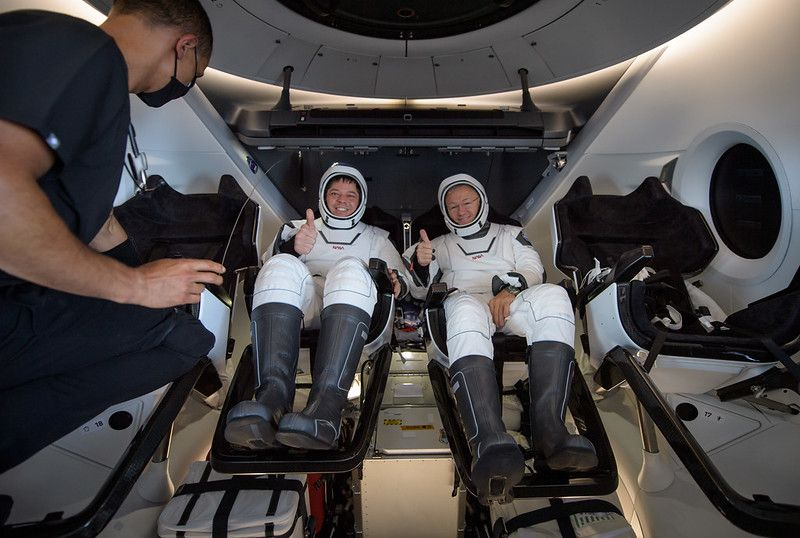 NASA hails success of SpaceX's 1st astronaut mission: 'This is just the beginning'