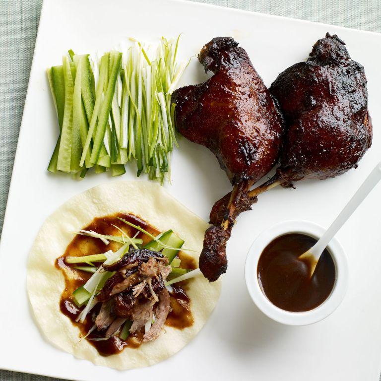 Crispy Duck Pancakes recipe-duck recipes-recipe ideas-new recipes-woman and home