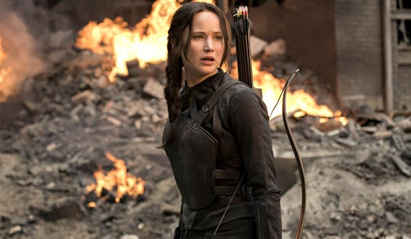 The Hunger Games mockingjay
