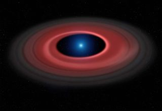 Earth-Size White Dwarf Artist's Impression