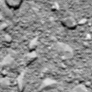 Rosetta's Final Photo