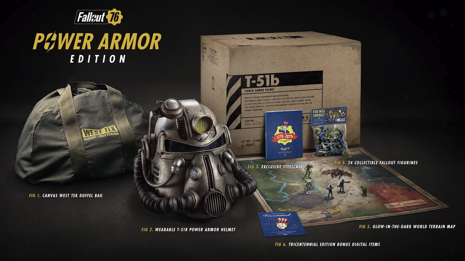 Fallout 76 collector's edition contents revealed, pre-order for beta