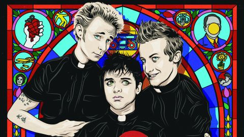 Cover art for Green Day - God's Favourite Band album