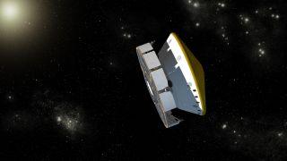 curiosity rover in space
