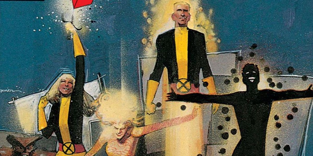 New Mutants comic artwork