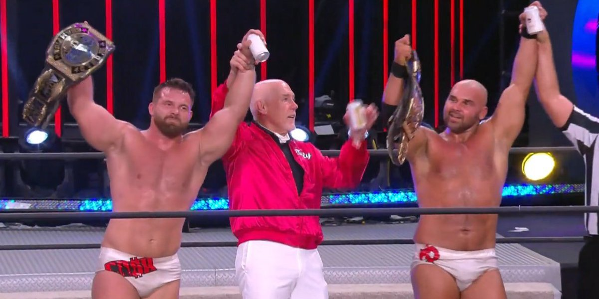FTR and Tully Blanchard in AEW