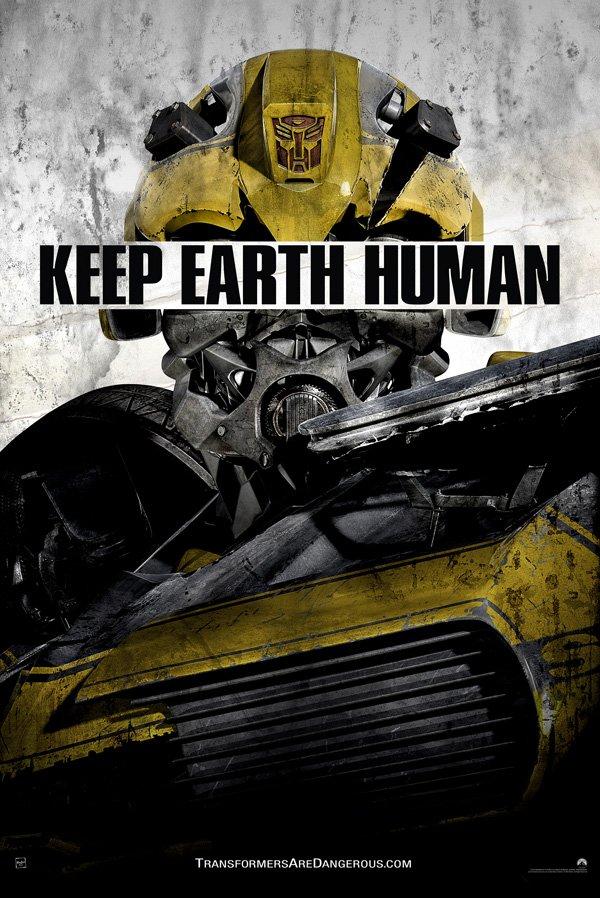 Transformers Propaganda Poster