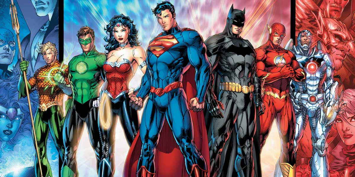 Justice League New 52 lineup