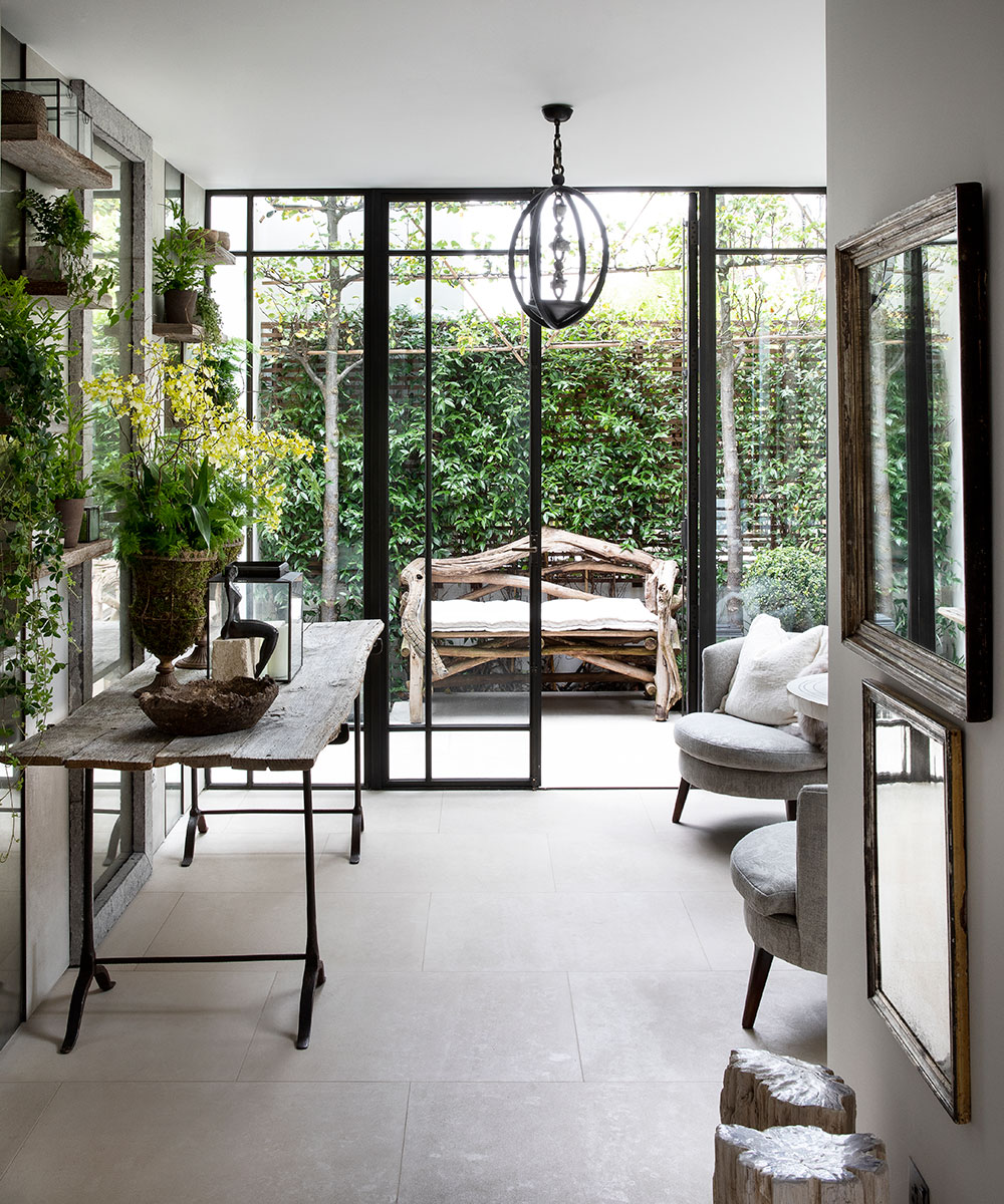 An urban retreat in London, owned and designed by Louise Bradley