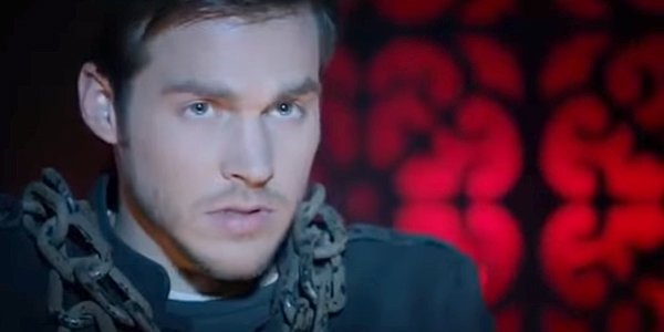 Chris Wood as Kai Parker in The Vampire Diaries The CW