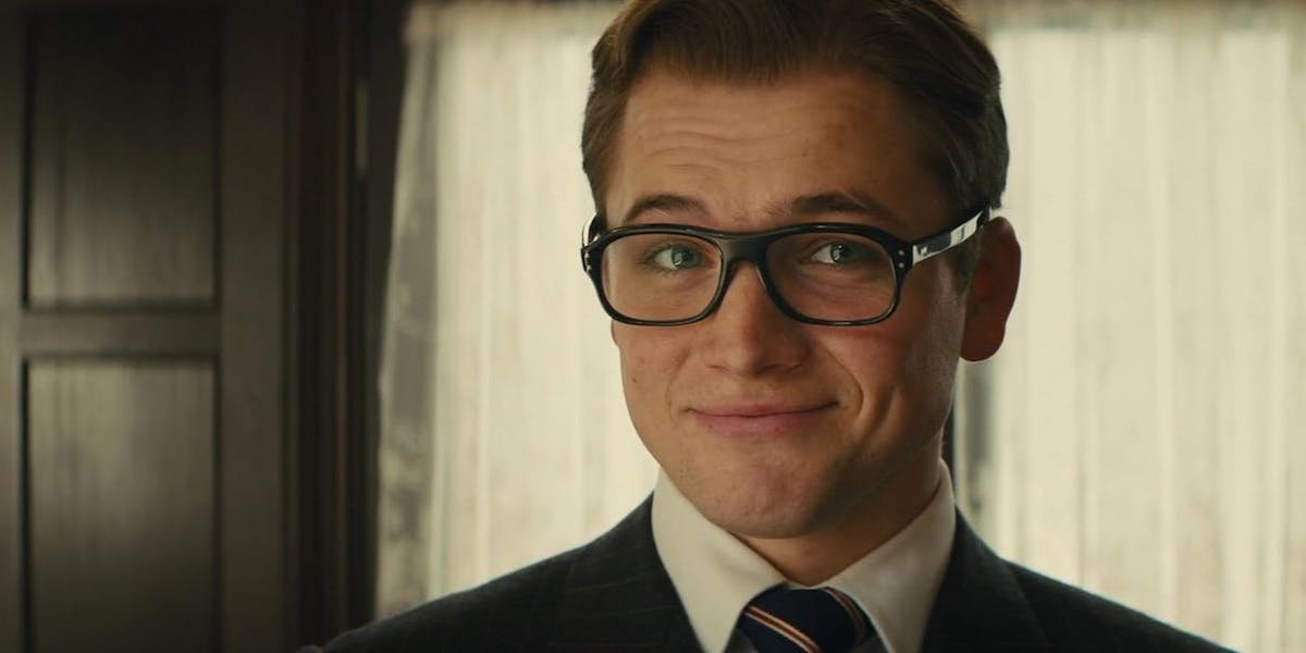 Taron Egerton as Eggsy in Kingsman: The Golden Circle