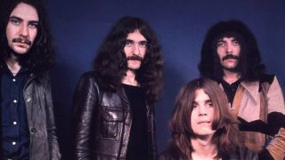 Heavy metal band Black Sabbath in the early 1970s