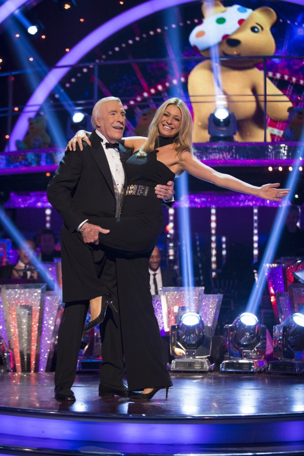 Sir Bruce Forsyth and Tess Daly on Children In Need