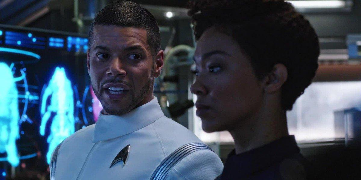 Wilson Cruz, Sonequa Martin-Green - Star Trek: Discovery