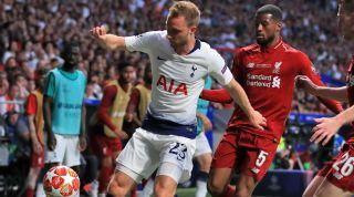 Christian Eriksen Tottenham Hostpur Liverpool