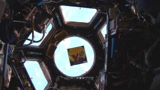 'The Wizard Who Saved the World' Floating in the International Space Station