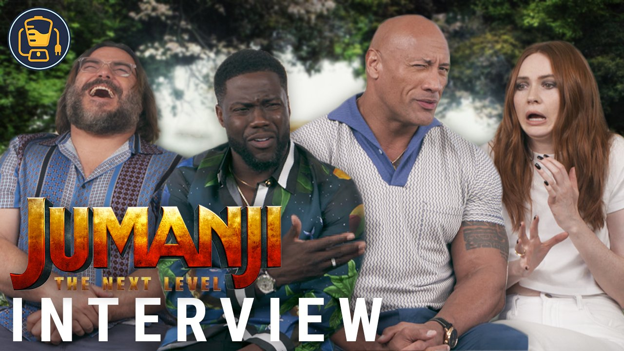 Jumanji: The Next Level Cast Interviews With Dwayne Johnson, Kevin Hart And More