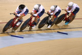 Great Britain fastest in women's Team Pursuit qualifier at