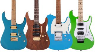 Charvel NAMM 2021 electric guitars