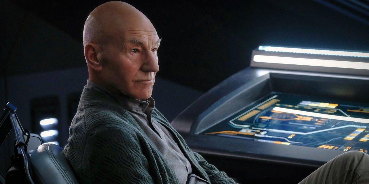 Patrick Stewart on Picard