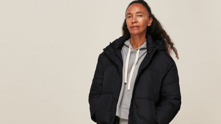 whistles Black Friday puffer jacket