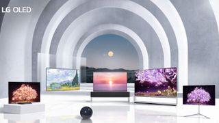 LG TV lineup 2021