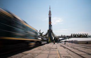 Soyuz MS-01 Spacecraft