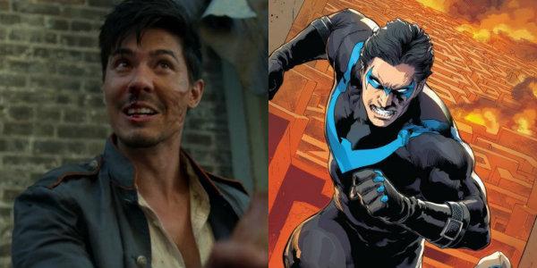 Lewis Tan Nightwing Iron Fist
