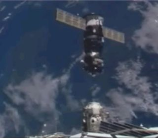 Fresh Cargo Ship Delivers Gifts to Station Astronauts