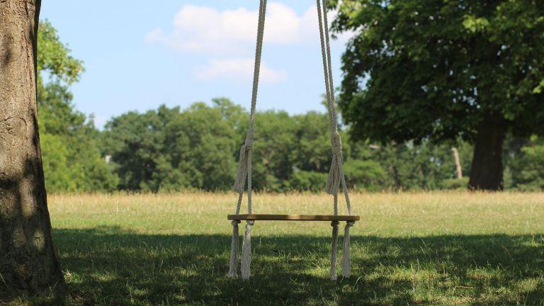 Real Oak Indoor Outdoor Kids & Adults Tree Swing