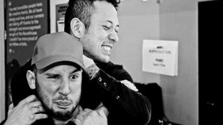 Shvpes Griff Dickinson and Trivium's Matt Heafy