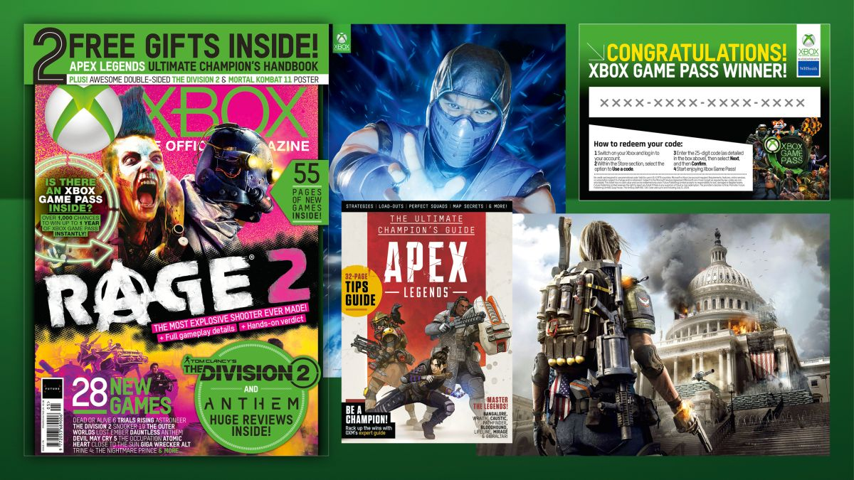 Win up to one year's Xbox Game Pass subscription with the new Official Xbox Magazine at WHSmith