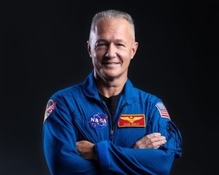 Headshot of NASA astronaut Doug Hurley.