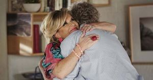 A beautiful reunion between Marilyn Chambers and John Palmer in Home And Away.