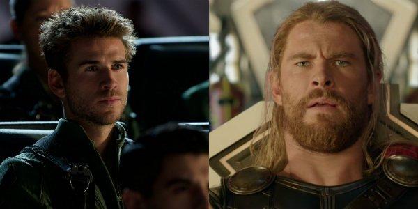 Liam Hemsworth Chris hemsworth brothers look alike