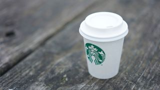 Starbucks paper cup