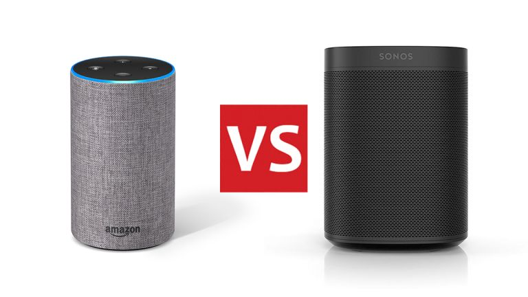 Amazon Echo vs Sonos One