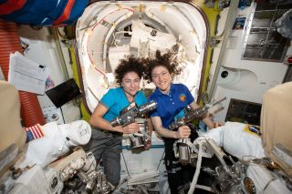 NASA Astronauts Make History with 1st All-Woman Spacewalk
