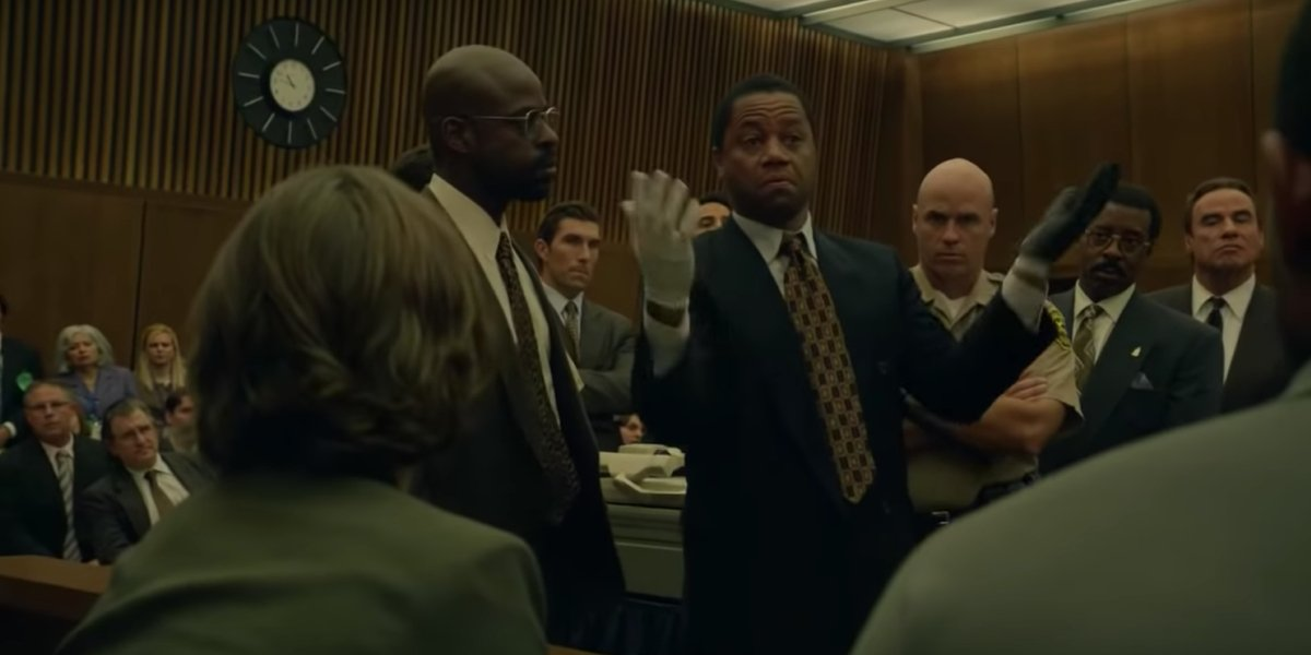 Cuba Gooding Jr. as O.J. Simpson in American Crime Story