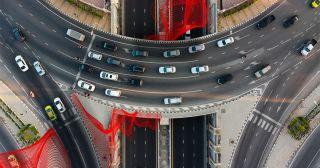 Vodafone cars shot.