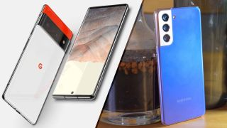 Google Pixel 6 vs. Samsung Galaxy S21