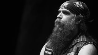 A picture of Black Label Society frontman Zakk Wylde