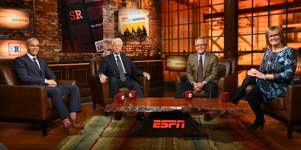 the sports reporters cast espn