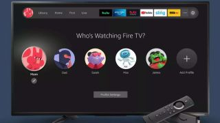 How to add Fire TV profiles