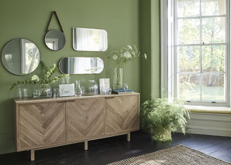 make a room look bigger with mirrors john lewis and partners