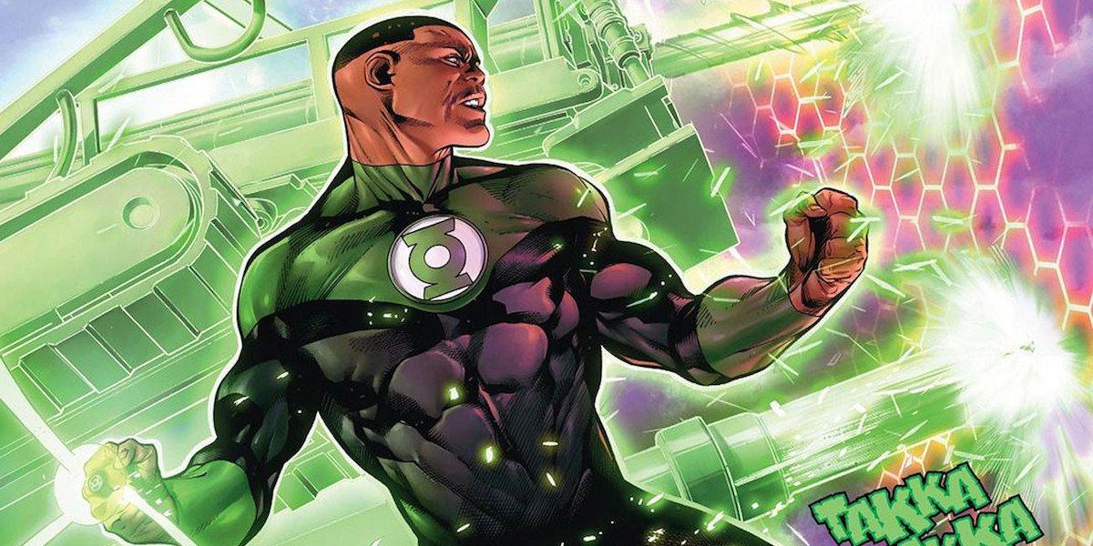 Green Lantern John Stewart in DC Comics