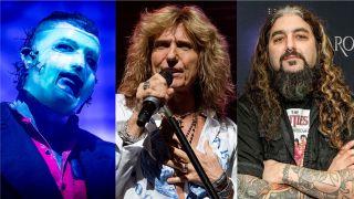 Slipknot's Corey Taylor, Whitesnake's David Coverdale and Sons Of Apollo's Mike Portnoy