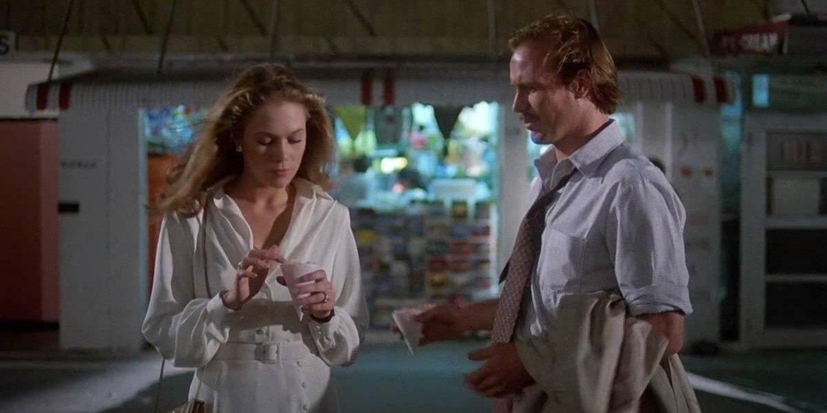 Kathleen Turner and William Hurt in Body Heat